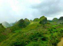 Osmena Peak Beklimmen - Filipijnen
