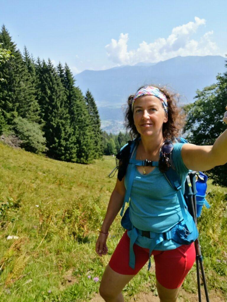 Eerste dag Alpe Adria Trail : Nog fris en fruitig