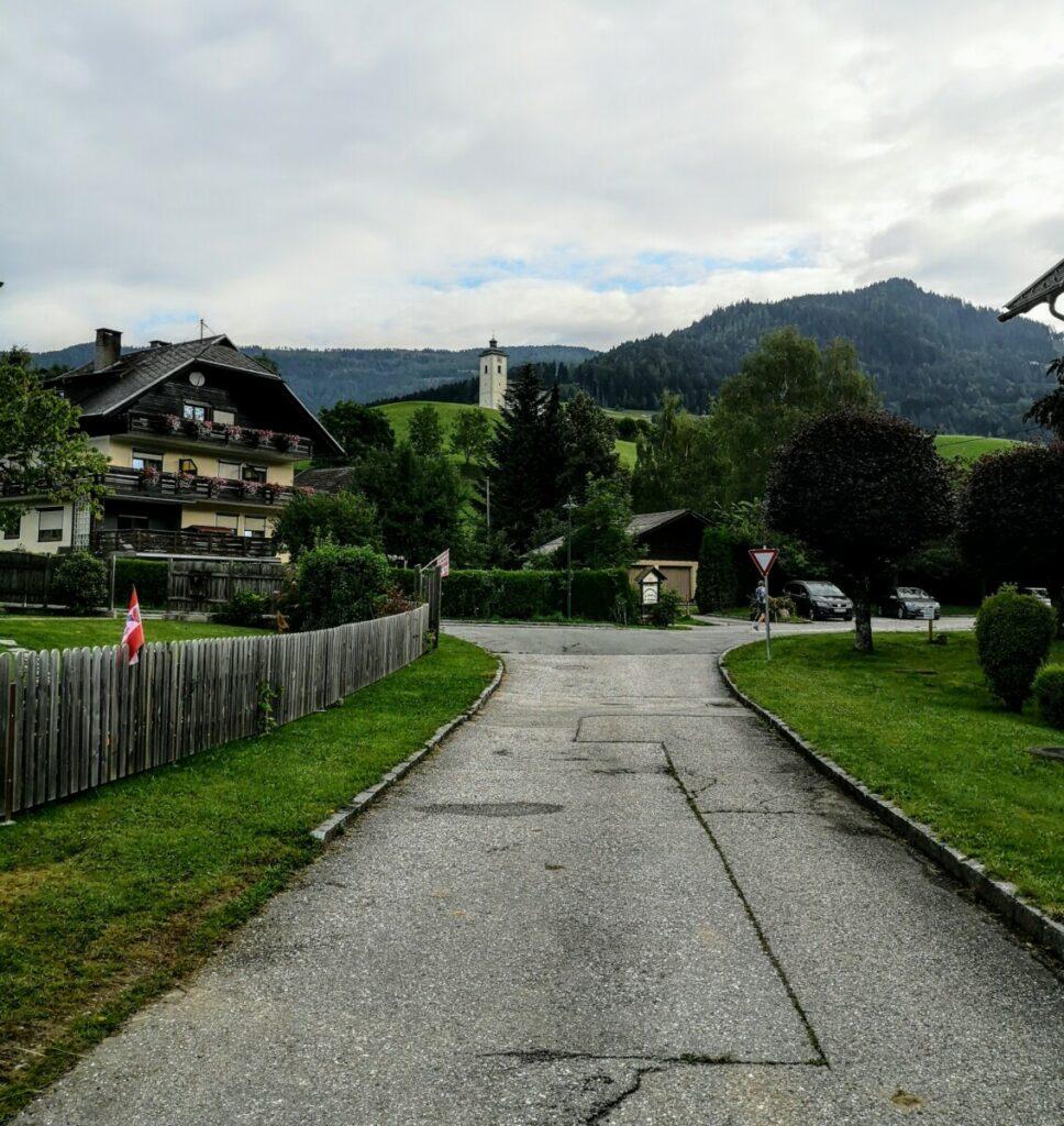 Start etappe 18 Alpe Adria Trail