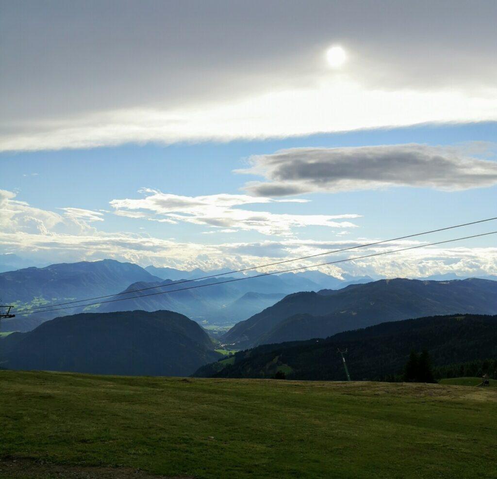 Panorama uitzicht Gerlitzen