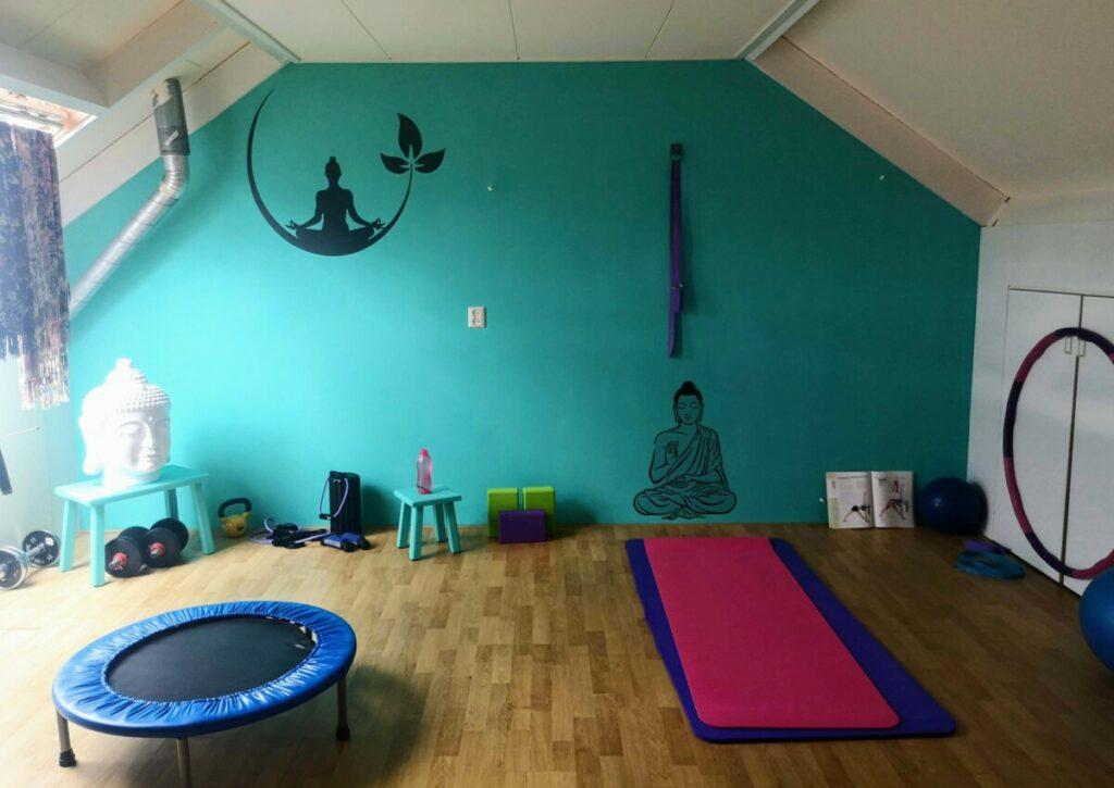 Mijn yoga zolder - Hellendoorn