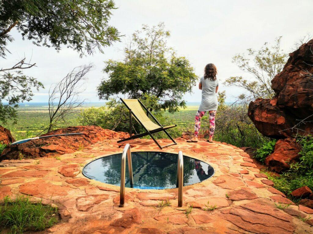 Waterberg - zicht op de Kalahari Woestijn