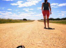 Na de beroving stond ik een tijd stil in het buitengebied van Namibië