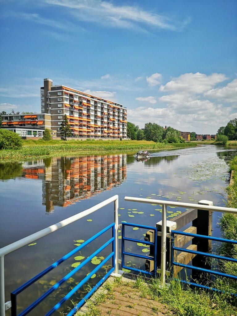 Binnenkomst Hanzestad Zwolle - NS Wandeling Overijsselse Buitenplaatsen