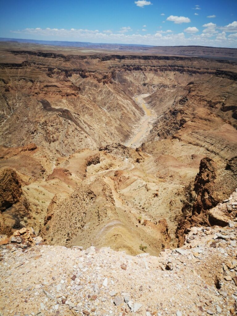 Bezoek Fish River Canyon vanuit Canyon Roadhouse - Namibië