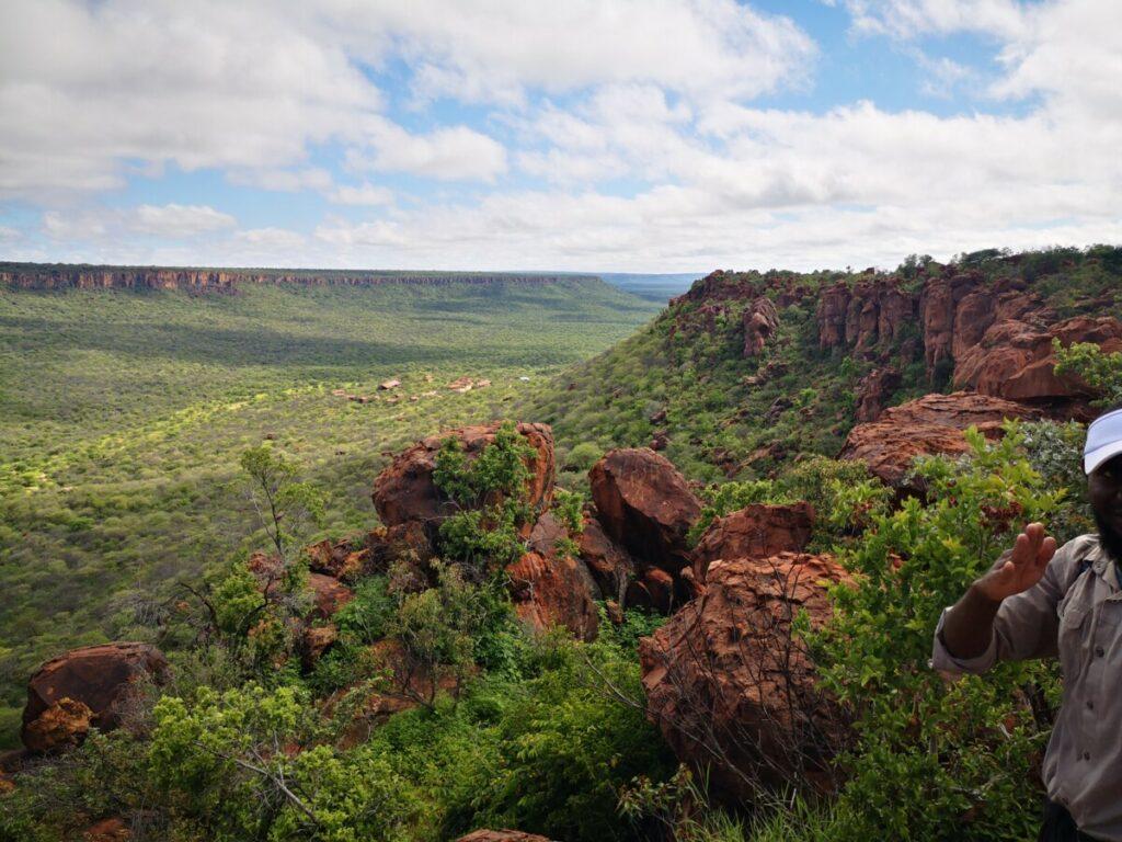 Wandelen op de Waterberg Plateau National Park