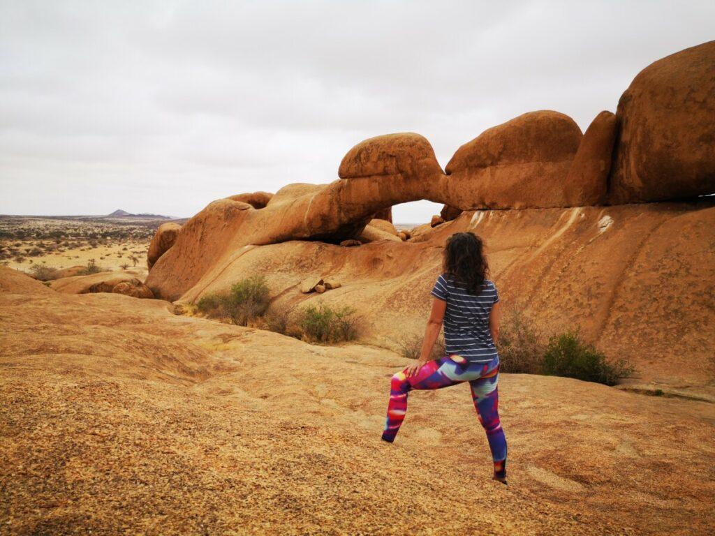 Voor het eerst Rock Arch bewonderen