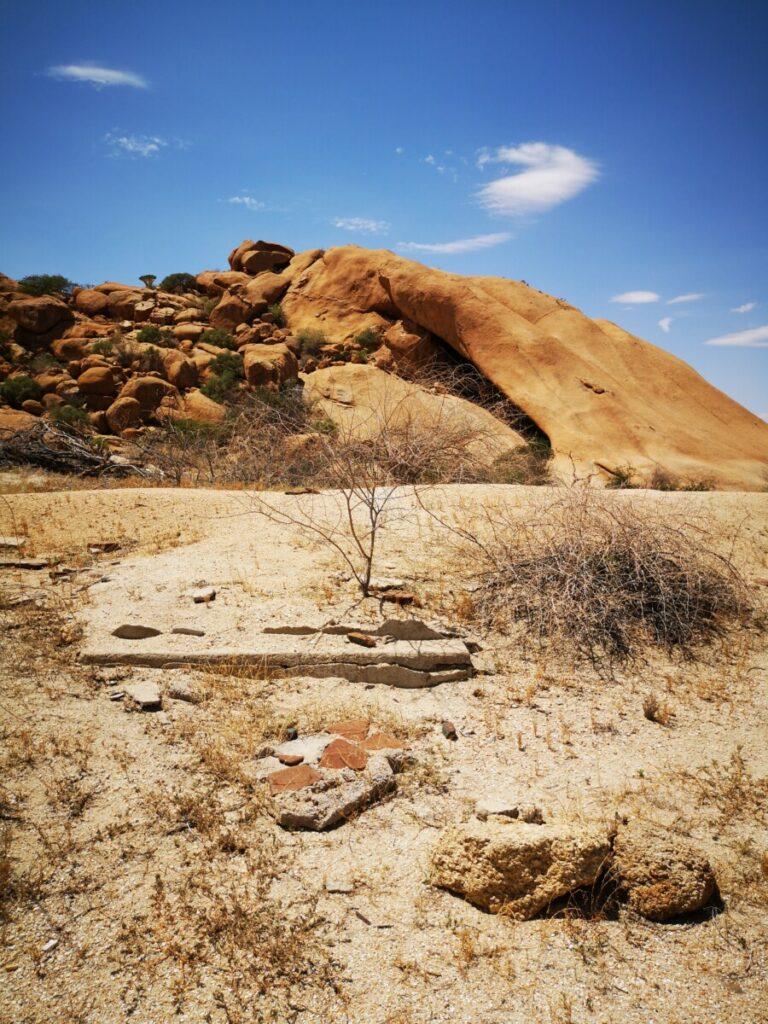 Old Fort Ruins - Bezoek aan Spitzkoppe