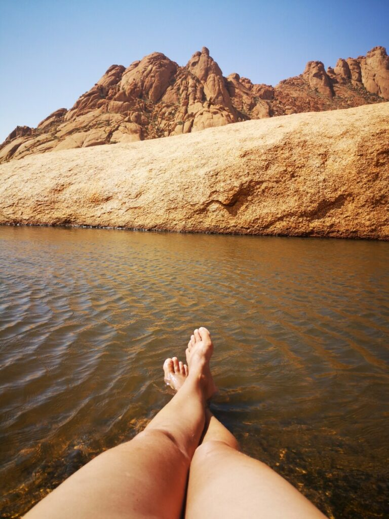 Rock Pool - Bezoek aan Spitzkoppe