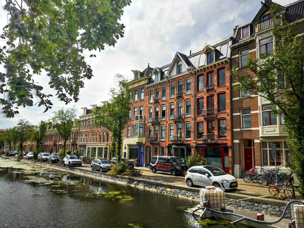 Woningen aan de Transvaalkade - Wandelen Amsterdam Watergraafsmeer