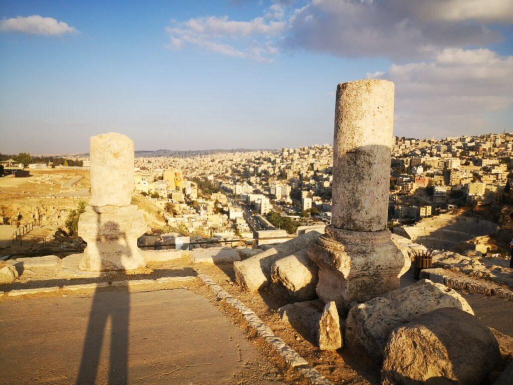 Romeins Citadel in Amman - Jordanië