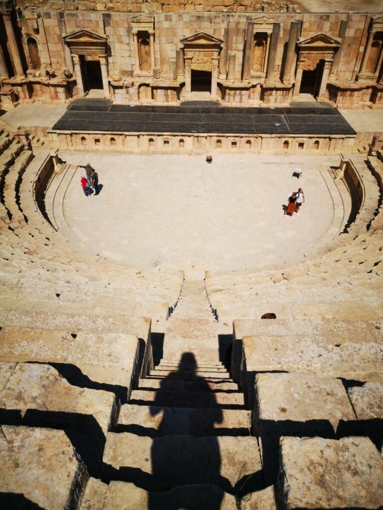 Zuid theater in de Ruïnes van Jerash