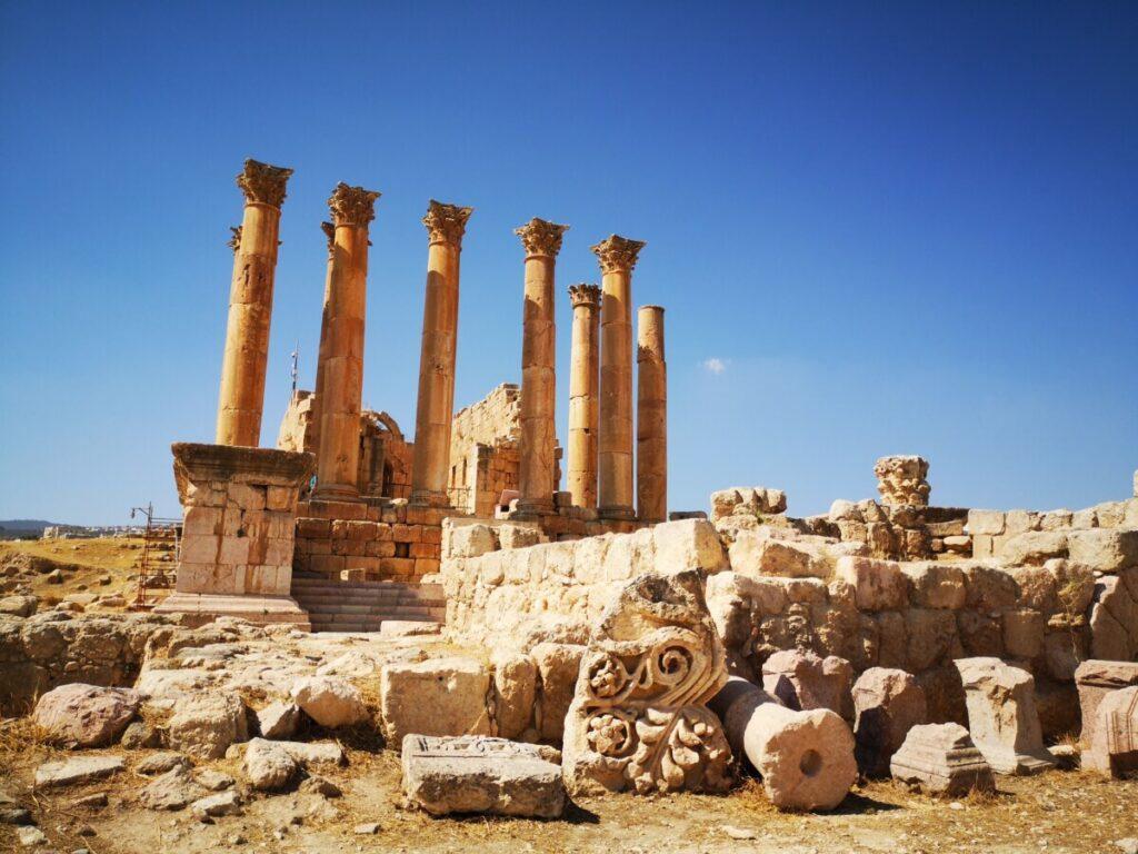 De tempel van Artemis - Jerash