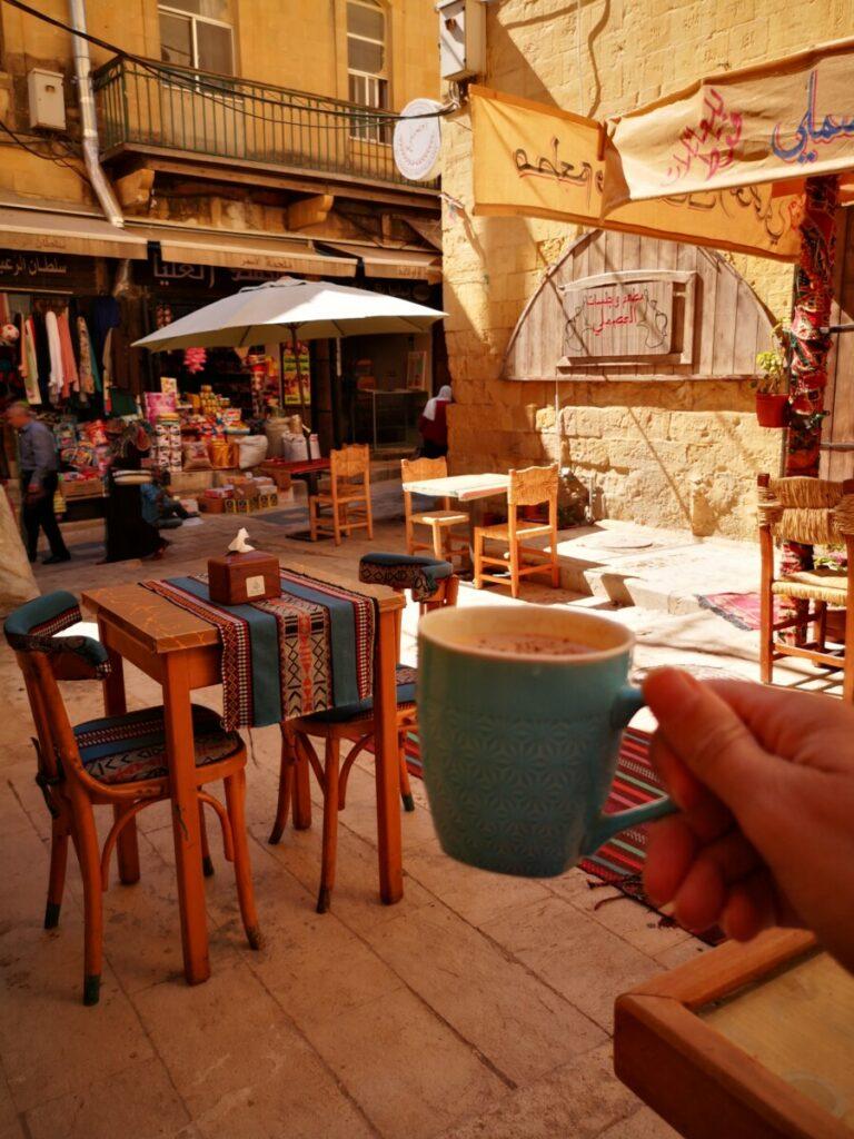 Bezoek Salt - Koffie in Hammam Street